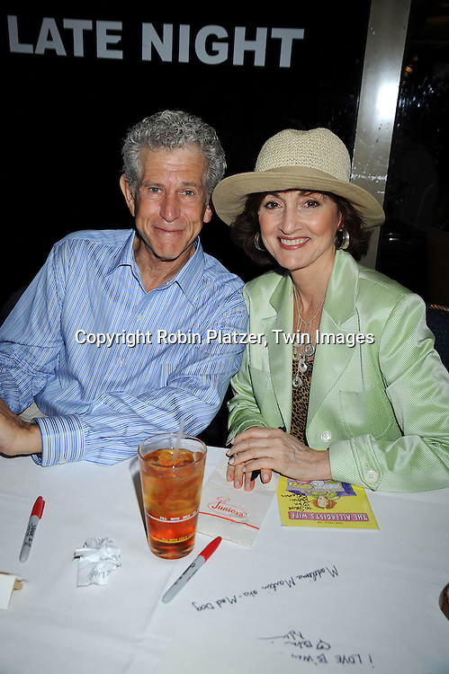 Tony Roberts and Robin Strasser..at The Broadway Cares/Equity Fights Aids 22nd Annual Broadway Flea Market on September 21, 2008 in Shubert Alley in New York City. ....Robin Platzer, Twin Images