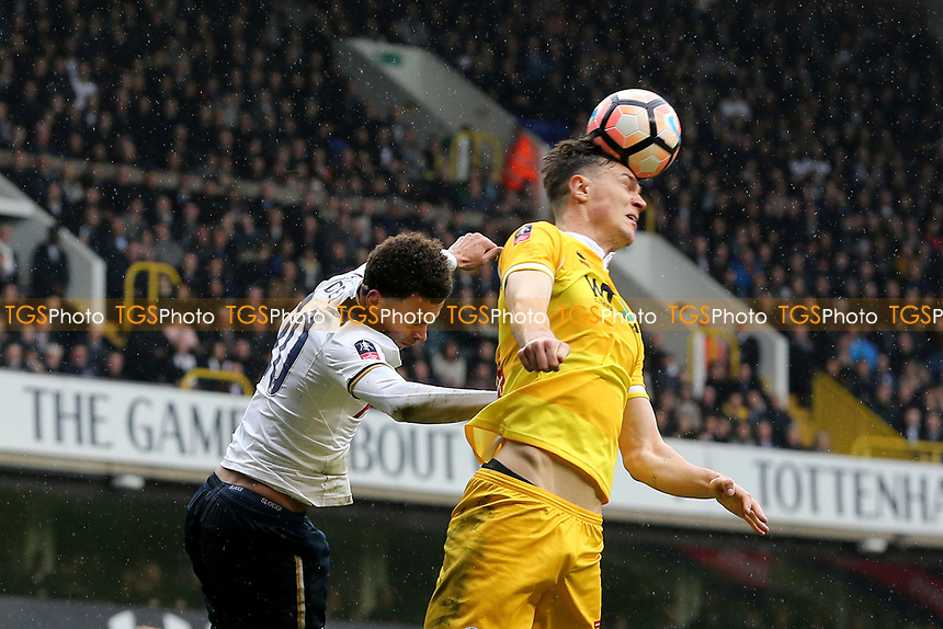Dele Alli of Tottenham Hotspur during Tottenham Hotspur vs Millwall, Emirates FA Cup Football at White Hart Lane on 12th March 2017