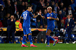 Deyverson of Getafe CF celebrates goal during UEFA Europa League match between Getafe CF and AFC Ajax at Coliseum Alfonso Perez in Getafe, Spain. February 20, 2020. (ALTERPHOTOS/A. Perez Meca)
