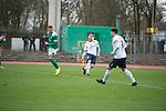 09.03.2019, Platz 11, Bremen, GER,RL Nord, Werder Bremen II vs VfB Oldenburg, im Bild<br /> Angelos ARGYRIS (VfB Oldenburg #4 ), Joshua BITTER<br />  (Werder Bremen II #2)<br /> <br /> Foto &copy; nordphoto / Rojahn