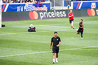 HARRISON, EUA, 21.07.2017 - BARCELONA-JUVENTUS -  Luís Suarez (a frente) e Neymar Jr. do Barcelona durante treino um dia antes da partida contra a Juventus pela International Champions Cup na Red Bull Arena na cidade de Harrison nos Estados Unidos nesta sexta-feira, 21. (Foto: William Volcov/Brazil Photo Press)