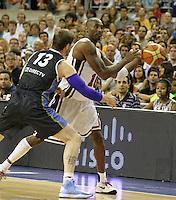 22.07.2012 Barcelona. Partido amistoso pre-olimpico London 2012 entre USA y Argentina
