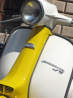 Detail if a 1964 Lambretta TV 175 series 3