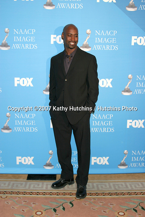 D.B. Woodside.NAACP Image Awards Nominations.Pennisula Hotel.Beverly Hills,  CA.January 8, 2007.©2007 Kathy Hutchins / Hutchins Photo....