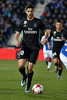 Leganes vs Real Madrid Marco Asensio during Copa del Rey  match. A quarter of final go. 20180118. *** Local Caption *** © pixathlon<br /> Contact: +49-40-22 63 02 60 , info@pixathlon.de