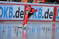 SCHAATSEN: BOEDAPEST: Essent ISU European Championships, 08-01-2012, 5000m Ladies, Isabell Ost GER, ©foto Martin de Jong