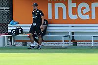 SÃO PAULO,SP,11.02.2019 - FUTEBOL-SÃO PAULO FC - O técnico   do São Paulo André Jardine durante treino no Centro de treinamento da Barra Funda na região oeste de São Paulo, nesta segunda-feira, 11. (Foto: Dorival Rosa/Brazil Photo Press/Folhapress)