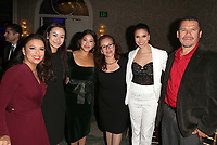 LOS ANGELES, CA - NOVEMBER 8: Eva Longoria, Roselyn Sanchez, Guests, at the Eva Longoria Foundation Dinner Gala honoring Zoe Saldana and Gina Rodriguez at The Four Seasons Beverly Hills in Los Angeles, California on November 8, 2018. Credit: Faye Sadou/MediaPunch