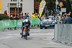 Team Virtu Cycling in action during the Women's Team Time Trial of the 2018 UCI Road World Championships running 54.7km from Ötztal to Innsbruck, Innsbruck-Tirol, Austria 2018.<br /> Picture: Innsbruck-Tirol 2018/Jan Hetfleisch | Cyclefile<br /> <br /> <br /> All photos usage must carry mandatory copyright credit (© Cyclefile | Jan Hetfleisch/Innsbruck-Tirol 2018)