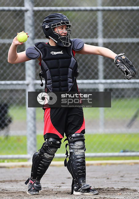 NELSON, NEW ZEALAND - OCTOBER 8: 2016 Nelson Club Softball season opening. Saxton Turf on 8 October 2016 in Nelson, New Zealand. (Photo by: Chris Symes/Shuttersport Limited)