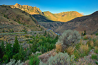 Interior Plateau in Fraser Canyon<br />
