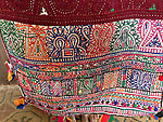 ANTIQUE TEXTILE EMBROIDERY DOWRY BAG