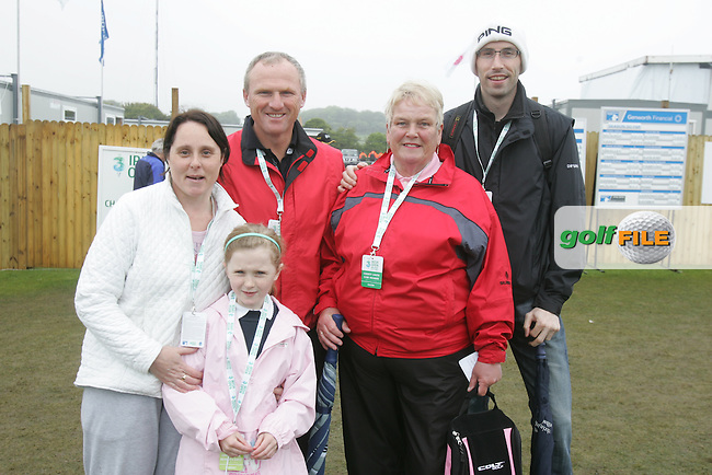 Nigel, Elizabeth and Rachel Beirth with Gemma McGuirk at the 3 Irish Open Golf in Baltray...Photo NEWSFILE/Jenny Matthews.(Photo credit should read Jenny Matthews/NEWSFILE)....This Picture has been sent you under the condtions enclosed by:.Newsfile Ltd..The Studio,.Millmount Abbey,.Drogheda,.Co Meath..Ireland..Tel: +353(0)41-9871240.Fax: +353(0)41-9871260.GSM: +353(0)86-2500958.email: pictures@newsfile.ie.www.newsfile.ie.FTP: 193.120.102.198.