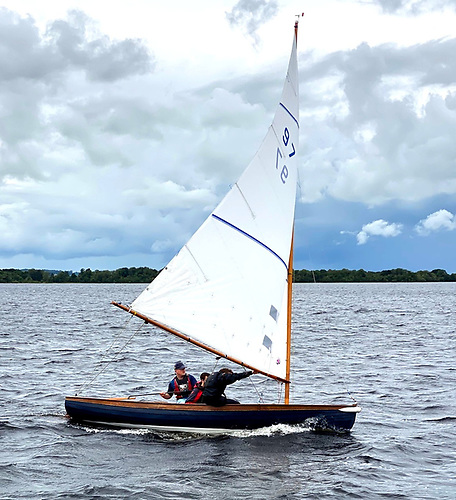 Andrew Mannion in 97, his crew including Irish Mirror National Champion 2020 Caolan Croasdell, was Shannon One Design Overall Champion at Lough Ree YC Quarter Millennial Regatta