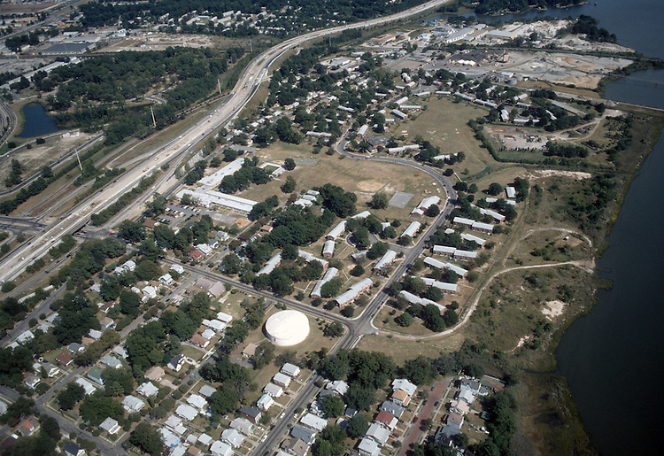 1997 September 23..Assisted Housing..Grandy Village...Aerial looking East...NEG#.NRHA#..