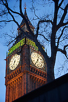 Big Ben, London UK early evening