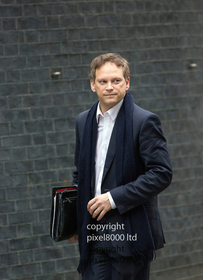 (file) Pic shows: Grant Shapps who quit today arriving at 10 Downing Street.<br /> <br /> <br /> <br /> <br /> picture by Gavin Rodgers/ Pixel