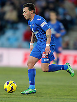 Getafe's Adrian Colunga during La Liga match. February 01, 2013. (ALTERPHOTOS/Alvaro Hernandez) /NortePhoto