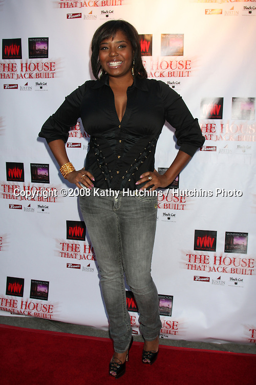 """Shar Jackson  arriving at the """"House that Jack Built"""" Screening at the ArcLight Theaters in Los Angeles, CA  on July 14, 2009 .©2008 Kathy Hutchins / Hutchins Photo.."""