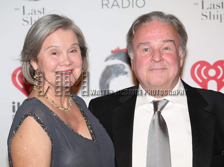 Fred Applegate and wife attend the Broadway Opening Night After Party for 'The Last Ship' at Pier 60 on October 26, 2014 in New York City.
