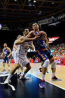 Temporada 2014 - 15 Liga ACB<br /> <br /> Presentaci&oacute;n Valencia Basket<br /> <br /> Amistoso Valencia Basket Club vs Cai Zaragoza<br /> <br /> Kresimir Loncar vs Stevan Jelovac