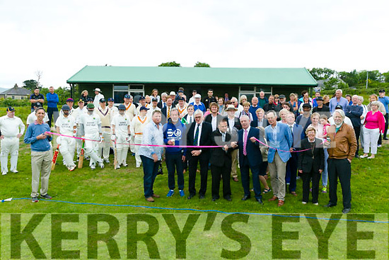 Formal opening of the new cricket arena 'Oyster Oval' by James McGrath on Monday