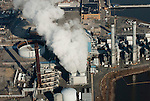 Aerial view of Sunoco Marcus Hook Refinery