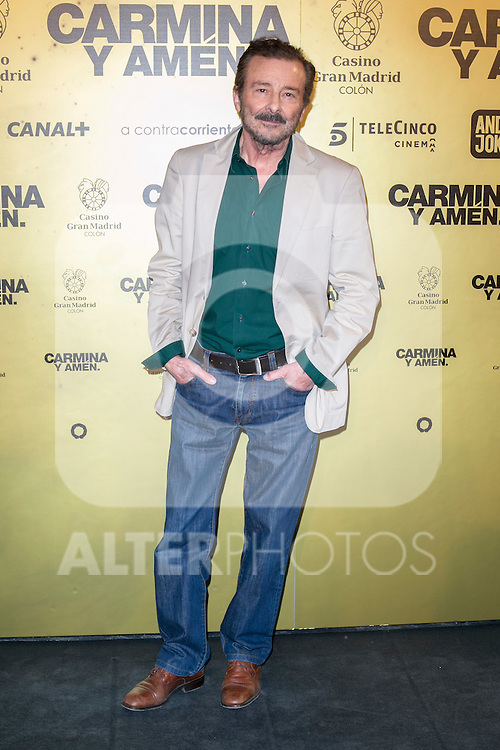 "Spanish actor Juan Diego attend the Premiere of the movie ""Carmina y Amen"" at the Callao Cinema in Madrid, Spain. April 28, 2014. (ALTERPHOTOS/Carlos Dafonte)"