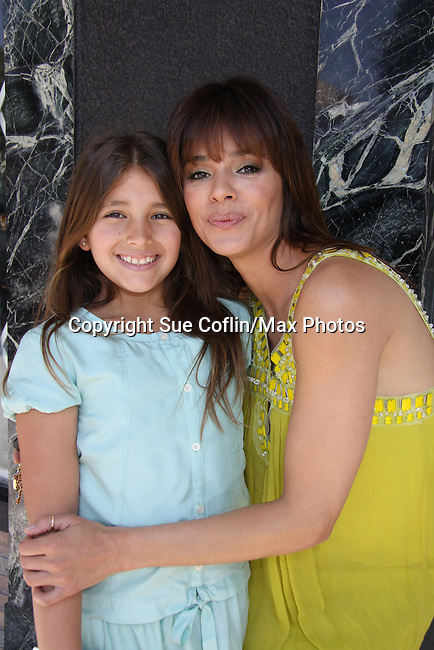 "Young and Restless, Gladise Ramirez ""Ramona"" and daughter Simone attends The Premiere Book Signing of ""It's All About Dorothy"" - a wonderful new children's book and song which includes a cd telling the story of ""The Wizard of Oz"" on April 10, 2011 at Chevalier's Books, Los Angeles, California. (Photos by Sue Coflin/Max Photos)"