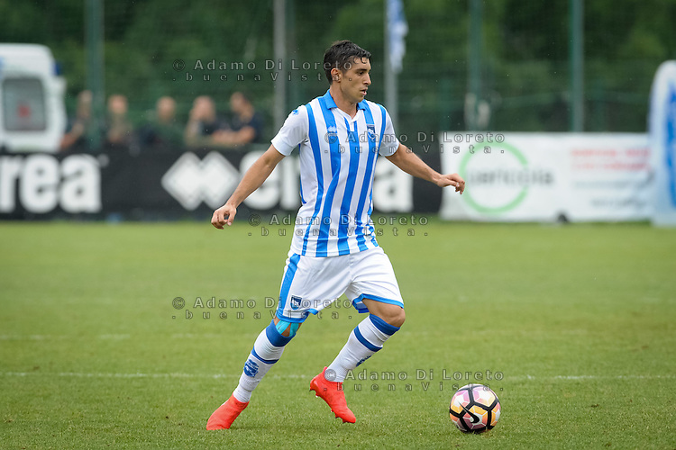 Gaston Brugman (Pescara) during the withdrawal preseason Serie A; match friendly between Pescara vs San Nicolò, on July 28, 2016. Photo: Adamo Di Loreto/BuenaVista*photo