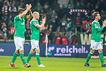 01.12.2018, Weser Stadion, Bremen, GER, 1.FBL, Werder Bremen vs FC Bayern Muenchen, <br /> <br /> DFL REGULATIONS PROHIBIT ANY USE OF PHOTOGRAPHS AS IMAGE SEQUENCES AND/OR QUASI-VIDEO.<br /> <br />  im Bild<br /> <br /> entt&auml;uscht / enttaeuscht / traurig / Niederlage<br /> Max Kruse (Werder Bremen #10)<br /> Davy Klaassen (Werder Bremen #30)<br /> <br /> Foto &copy; nordphoto / Kokenge