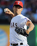 Yu Darvish (Rangers),<br /> JULY 22, 2013 - MLB :<br /> Yu Darvish of the Texas Rangers pitches during the Major League Baseball game against the New York Yankees at Rangers Ballpark in Arlington in Arlington, Texas, United States. (Photo by AFLO)