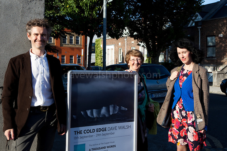 The Cold Edge Photo Exhibition Launch, the Copper House Gallery, Dublin, 13/9/2012