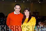 Pa Laide and Susanne Donovan of the Tralee Credit Union attending the annual Noreen Lynch Credit Union Quiz in the Brandon Hotel on Sunday last.