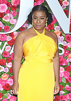 NEW YORK, NY - JUNE 10: Uzo Aduba attends the 72nd Annual Tony Awards at Radio City Music Hall on June 10, 2018 in New York City.  <br /> CAP/MPI/JP<br /> &copy;JP/MPI/Capital Pictures