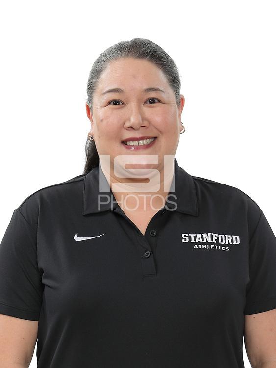 STANFORD, CA - February 9, 2018: 2018 Stanford Baseball Team portraits.