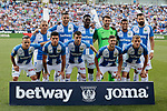 CD Leganes's team photo during La Liga match between CD Leganes and Atletico de Madrid at Butarque Stadium in Madrid, Spain. August 25, 2019. (ALTERPHOTOS/A. Perez Meca)