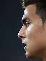 Calcio, Serie A: Juventus - Genoa, Turin, Allianz Stadium, October 20, 2018.<br /> Juventus' Paulo Dybala looks on during the Italian Serie A football match between Juventus and Genoa at Torino's Allianz stadium, October 20, 2018.<br /> UPDATE IMAGES PRESS/Isabella Bonotto