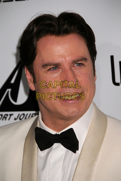 "JOHN TRAVOLTA.5th Annual ""Living Legends of Aviation"" Awards at the Beverly Hilton Hotel, Beverly Hills, California, USA..January 24th, 2008.headshot portrait black bow tie .CAP/ADM/BP.©Byron Purvis/AdMedia/Capital Pictures."