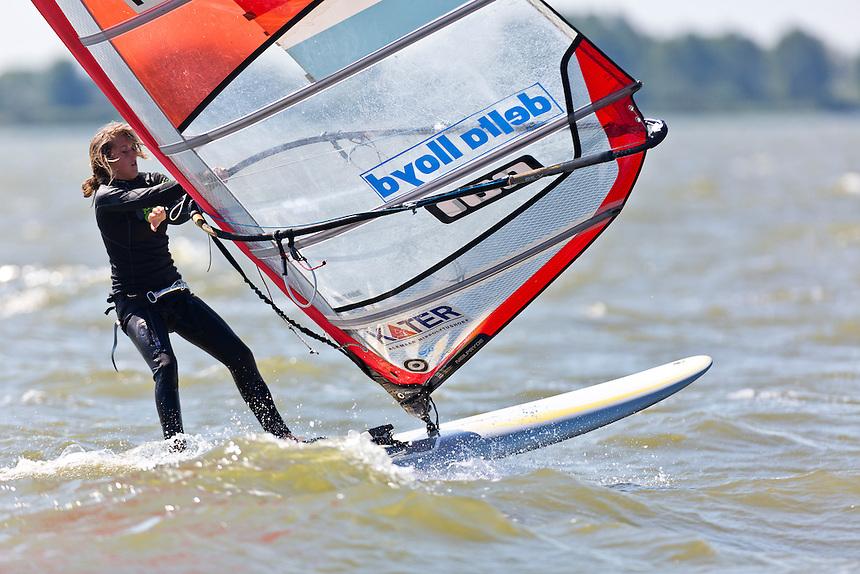 25-05-2012 / Medemblik (NED) / Delta Lloyd Regatta / Day 4 / RSX Women / de GEUS Lilian (NED)