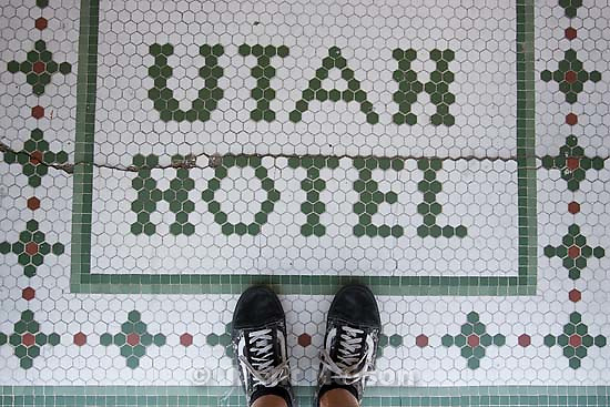 "trent feet and ""hotel utah"" in tile"