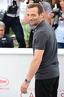 "22 May 2017 - Cannes, France - Mathieu Kassovitz. """"Happy End"" Photocall - 70th Annual Cannes Film Festival held at Palais des Festivals. Photo Credit: Jan Sauerwein/face to face/AdMedia"