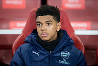 Tyreece John-Jules of Arsenal (substitute) during the UEFA Europa League match between Arsenal and Qarabag FK at the Emirates Stadium, London, England on 13 December 2018. Photo by Andy Rowland.