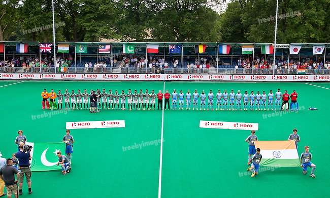 26/06/2015<br /> HWL Semi Final Antwerp Belgium 2015<br /> India v Pakistan<br /> <br /> Photo: Grant Treeby