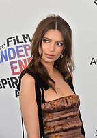 Emily Ratajkowski at the 2018 Film Independent Spirit Awards on the beach in Santa Monica, USA 03 March 2018<br /> Picture: Paul Smith/Featureflash/SilverHub 0208 004 5359 sales@silverhubmedia.com