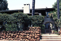 Irving Gill: Mary Cossitt House, 1906. 3526 7th Ave., San Diego. Photo 2000.