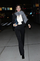 NEW YORK, NY - NOVEMBER 28:  Alexa Chung at Footwear News' 31st FN Achievement Award At IAC Building on November 28, 2017 in New York City. Credit: Diego Corredor/MediaPunch /NortePhoto.com NORTEPOTOMEXICO