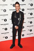 LONDON, UK. October 21, 2018: Adele Roberts at tthe BBC Radio 1 Teen Awards 2018 at Wembley Stadium, London.<br /> Picture: Steve Vas/Featureflash