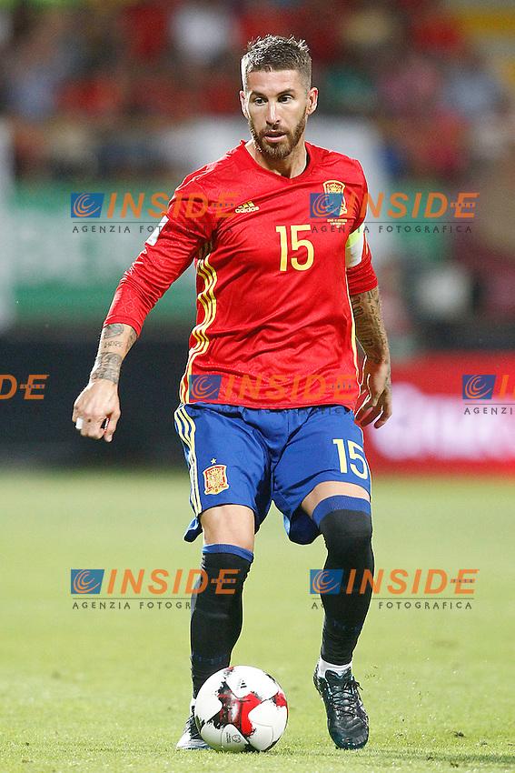 Spain's Sergio Ramos during FIFA World Cup 2018 Qualifying Round match. September 5,2016.(ALTERPHOTOS/Acero)<br /> Spagna - Liechtenstein <br /> Foto Insidefoto <br /> ITALY ONLY