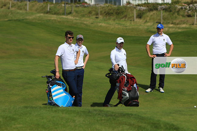 Darragh Walshe (Castletroy) on the 6th fairway during the Munster Final of the AIG Barton Shield at Tralee Golf Club, Tralee, Co Kerry. 12/08/2017<br /> Picture: Golffile | Thos Caffrey<br /> <br /> <br /> All photo usage must carry mandatory copyright credit     (&copy; Golffile | Thos Caffrey)